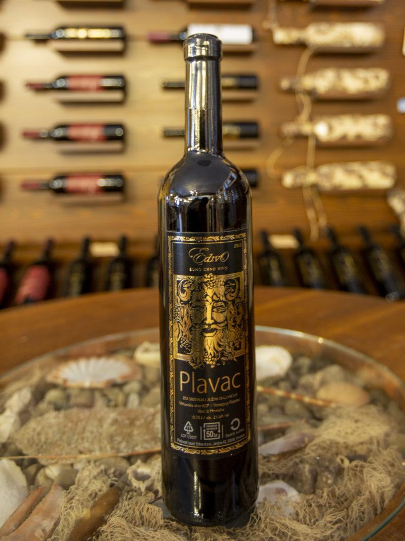 Plavac - Underwater Wine